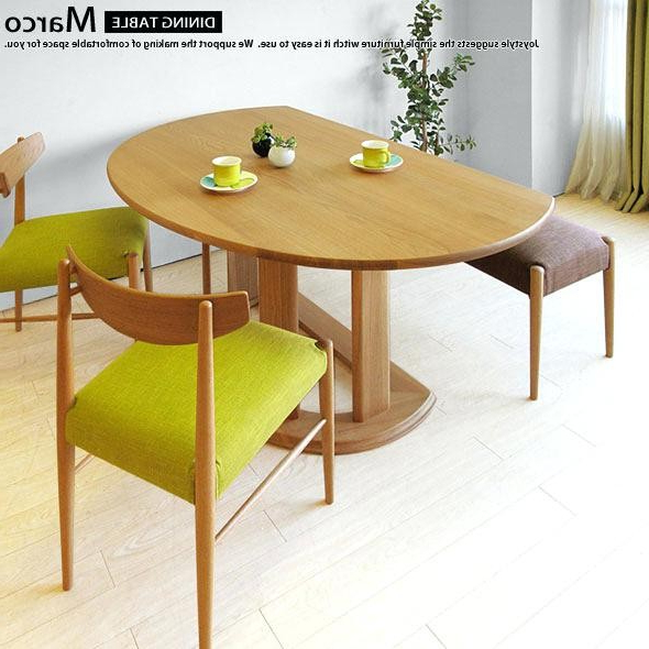 Popular Half Round Dining Tables – Soulpower With Round Half Moon Dining Tables (Gallery 19 of 20)