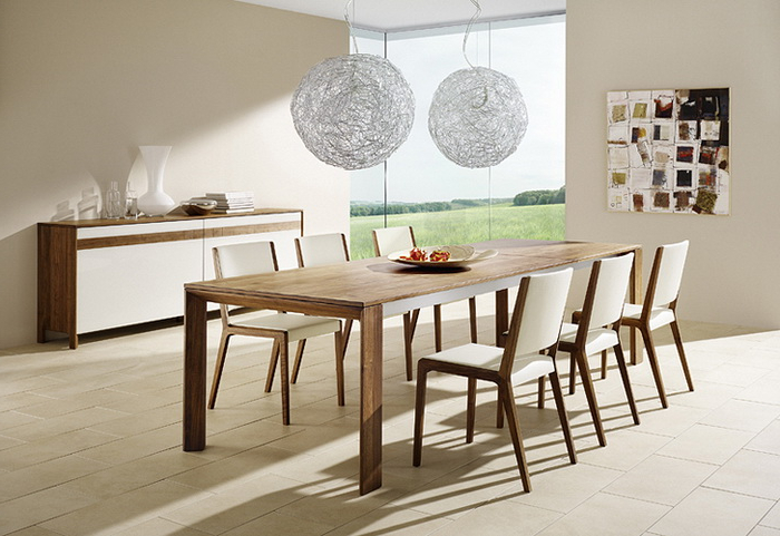 Popular Modern Dining Tables And Chairs With 15 Modern Dining Room Sets To Suit Your Sophisticated Taste – Home Loof (Gallery 19 of 20)