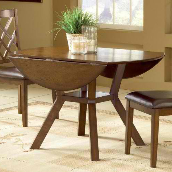 Popular Oval Folding Dining Tables Within 20 Pretty Wooden Oval Drop Leaf Dining Tables (View 2 of 20)