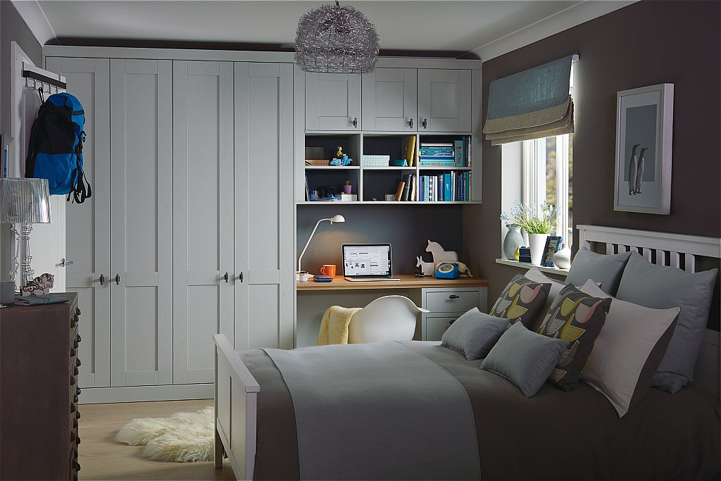 Popular Partridge 6 Piece Dining Sets For Kindred – Origin Fitted Bedroom Furniture Range In Partridge Grey (View 16 of 20)
