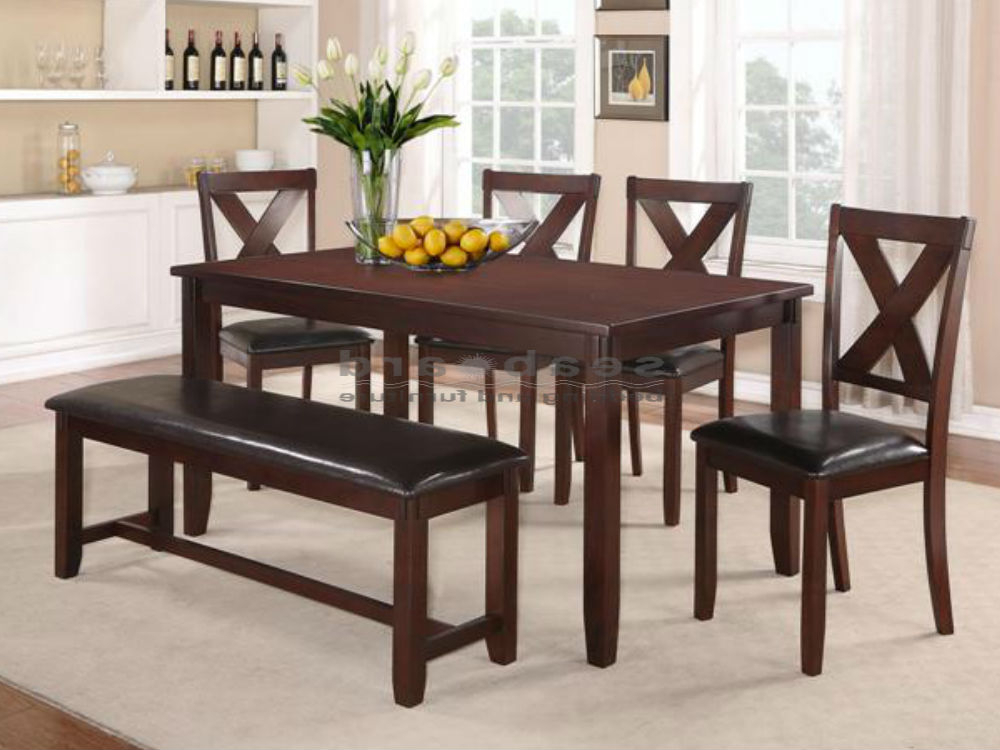 Popular Patterson 6 Piece Dining Sets With Regard To Dinning Room (View 9 of 20)