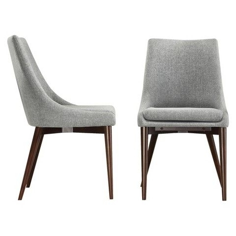 Popular Pilo Grey Side Chairs Inside Can't Believe How Nice These Target Chairs Are – Sullivan Dining (View 16 of 20)