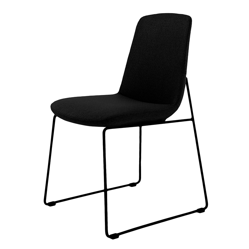 Popular Ruth Modern Dining Chair Black – (Set Of 2) For Black Dining Chairs (View 16 of 20)