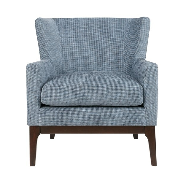 Popular Shop Madison Park Skylar Blue Accent Chair – Free Shipping Today Throughout Nautical Blue Side Chairs (View 18 of 20)