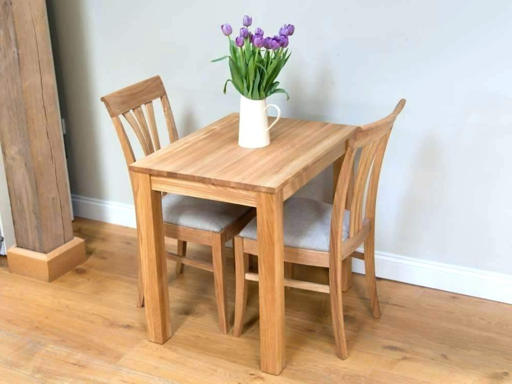 Popular Small Dining Table Set For 2 Amazing 2 Dining Table Set Two Dining Intended For Small Dining Tables For  (View 12 of 20)