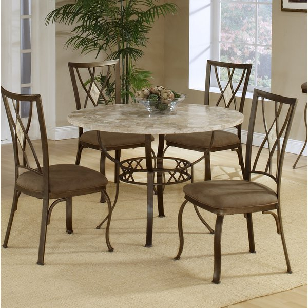 Popular Stone Dining Tables Regarding Round Stone Top Dining Table (View 5 of 20)