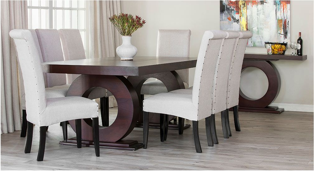 Popular Superb Knight Dining Suite And Server Rochester Furniture – Dining With Regard To Dining Room Suites (View 15 of 20)