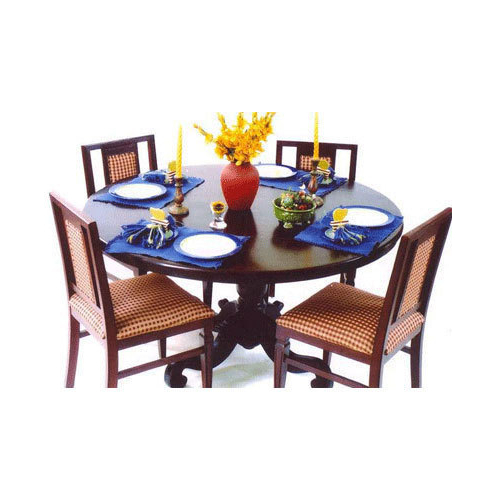 Popular Usha Furniture Imperial Dining Table With Four Chair, Rs 72000 /unit Within Imperial Dining Tables (View 16 of 20)