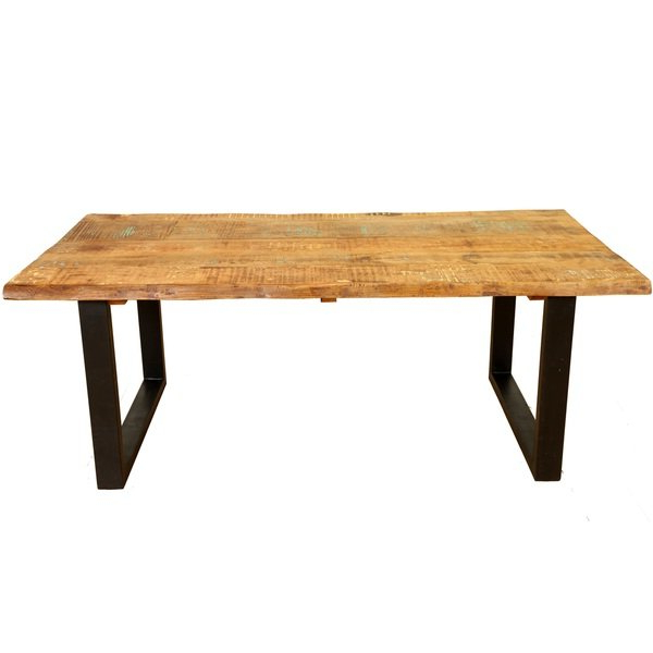 Portland 78 Inch Dining Tables With Regard To Most Popular Shop Handmade Wanderloot Distressed Paint Mango And Reclaimed Wood (View 12 of 20)