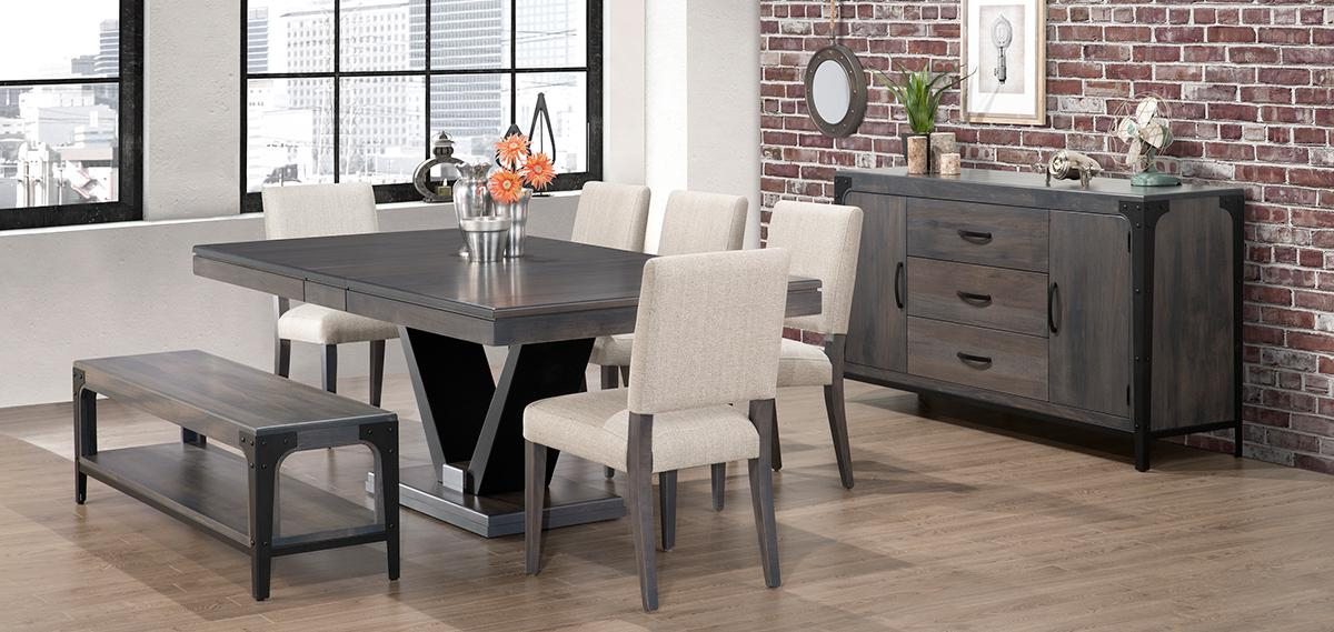Portland Dining Room Collectionhandstone< Within Widely Used Portland Dining Tables (View 11 of 20)