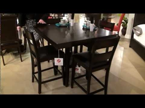 Preferred 5 Pc Pendleton Square Counter Height Dining Table Setstandard Regarding Palazzo 3 Piece Dining Table Sets (View 18 of 20)