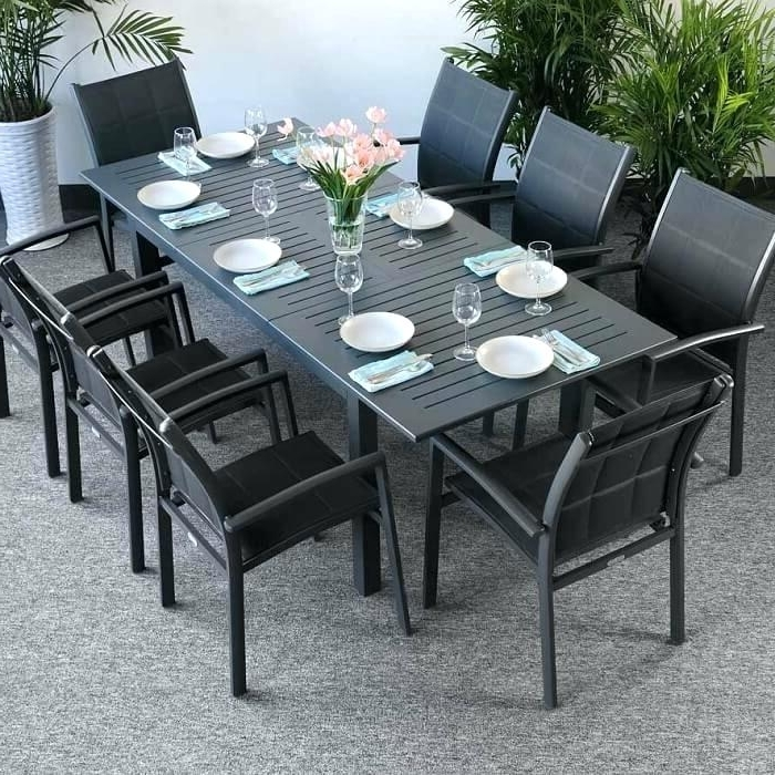 Preferred 8 Seat Outdoor Dining Set – Sportsdaily (View 17 of 20)