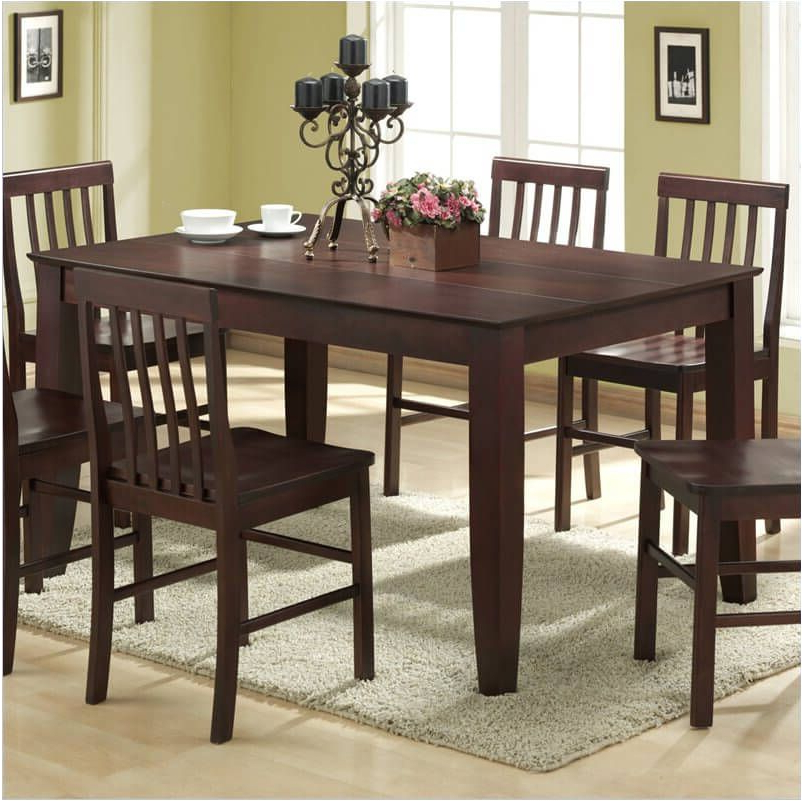Preferred Astonishing Awesome Dark Wood Dining Room Table Awesome Dark Wood With Regard To Dark Wood Dining Room Furniture (View 17 of 20)
