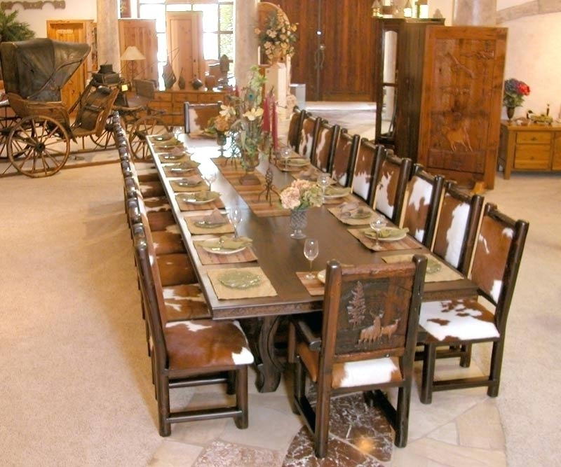 Preferred Big Dining Tables For Sale Pertaining To Decoration: Large Dining Table Tables Melbourne (View 5 of 20)