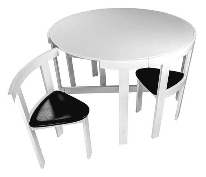 Preferred Black Folding Dining Tables And Chairs Regarding  (View 17 of 20)
