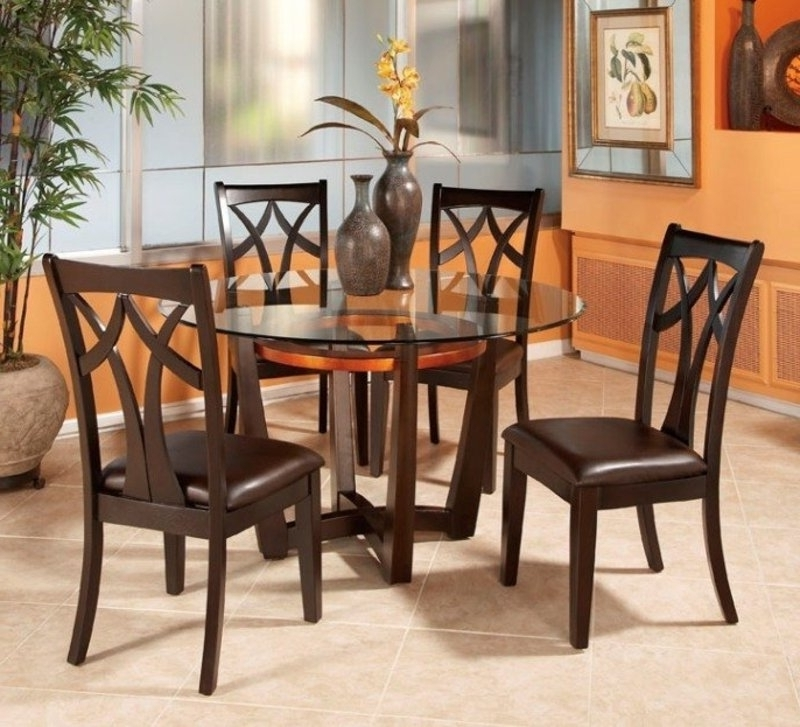 Preferred Cheap Glass Dining Tables And 4 Chairs With Regard To Inspiring Dining Table Set 4 Chairs Glass Dining Table And Chairs (View 17 of 20)
