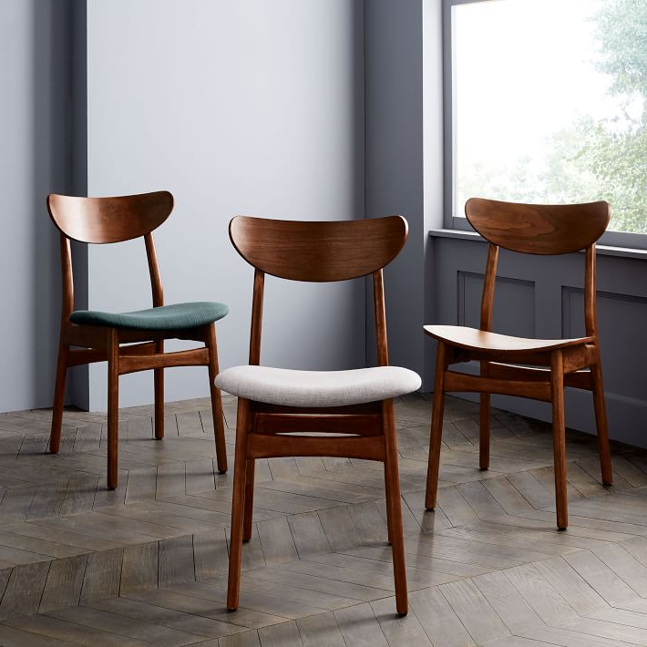 Preferred Classic Café Upholstered Dining Chair (Gallery 1 of 20)