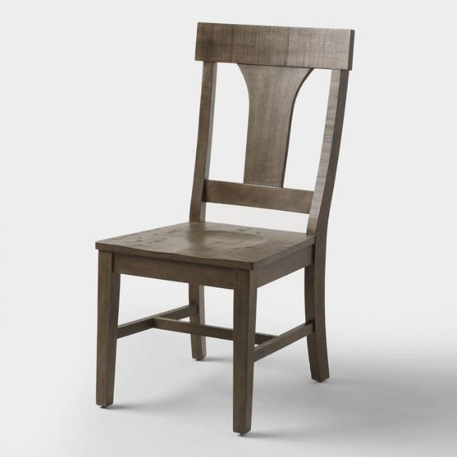 Preferred Contemporary Side Chair Modern Wooden Dining Throughout Rustic Wood Within Market Side Chairs (View 4 of 20)