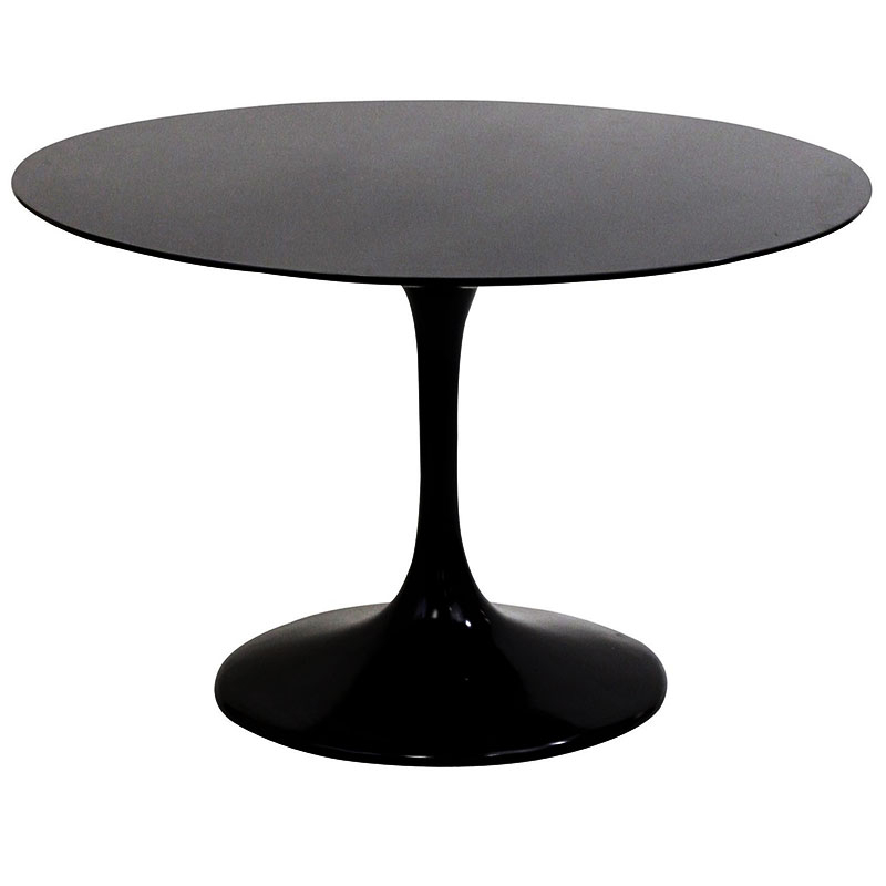 Preferred Dark Round Dining Tables With Regard To Significance Of Black Round Dining Tables – Home Decor Ideas (Gallery 1 of 20)