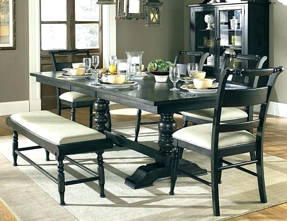 Preferred Dark Wood Dining Furniture Dark Wood Dining Table And White Dining Throughout Dark Dining Room Tables (View 8 of 20)