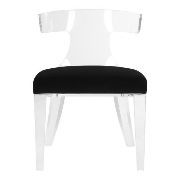 Preferred Decor Market – Safavieh Couture Rhys Arcylic Side Chair – Dining Within Market Side Chairs (View 18 of 20)