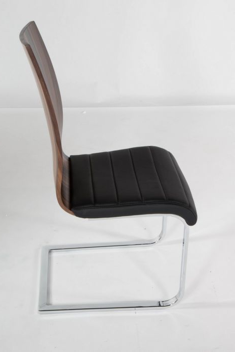 Preferred Delfina Dining Tables Throughout At Home Usa Skudc20103 Delfina Veneer Low Back Dining Chair – (Set (View 15 of 20)