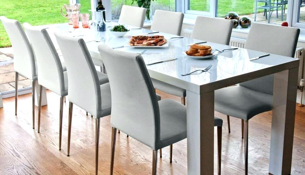 Featured Photo of Extending Dining Table With 10 Seats