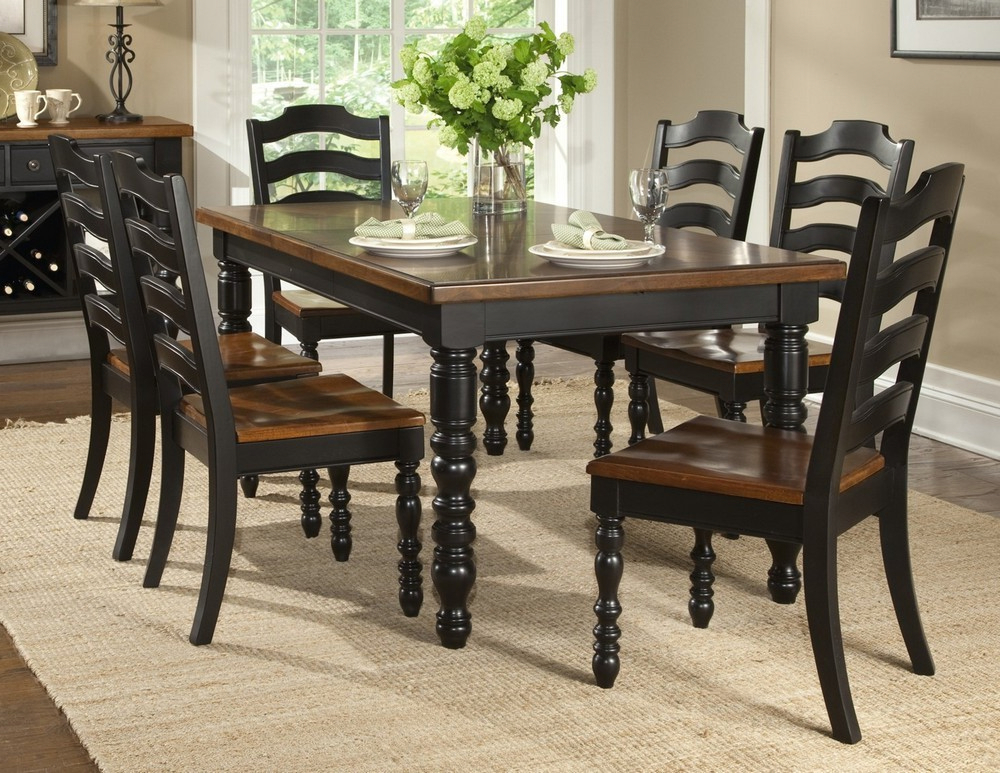 Preferred Dining Tables Dark Wood For Decorate Black Kitchen Table (View 13 of 20)
