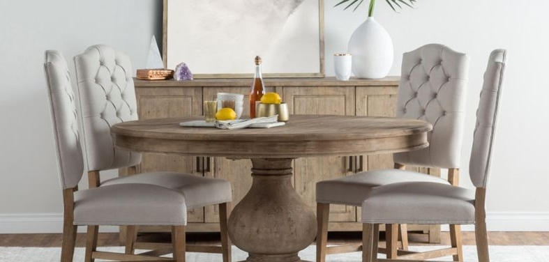 Preferred Farmhouse Dining Tables And Chairs Within Cintra Side Chairs (View 13 of 20)