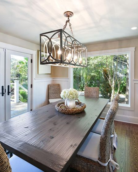 Preferred Hanging A Dining Room Chandelier At The Perfect Height For Lamp Over Dining Tables (View 10 of 20)