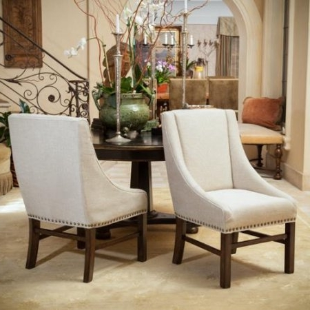 Preferred Kitchen Interior: Home Loft Concepts Caden Parsons Chair Set Of 2 With Regard To Caden Upholstered Side Chairs (View 20 of 20)