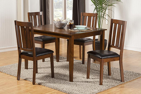 Preferred Lassen 5 Piece Round Dining Sets Throughout Dining Room Furniture In Hilo, Hi (View 17 of 20)