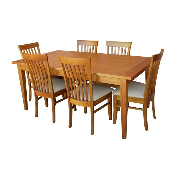 Preferred Leon Dining Tables Throughout Leon 7 Piece Dining Set (With Small Dining Table) (View 16 of 20)