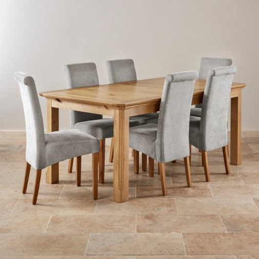 Preferred Light Oak Dining Tables And 6 Chairs In Oak Dining Table And Chairs – Thetastingroomnyc (View 16 of 20)