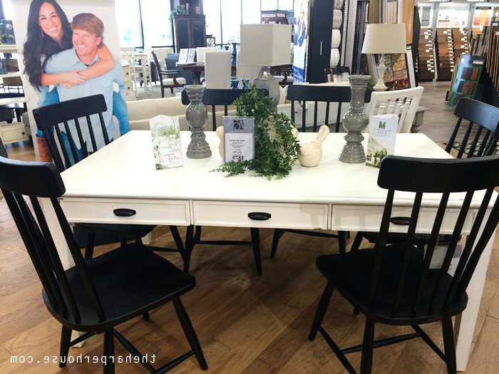 Preferred Magnolia Table – Rileywranglers Inside Magnolia Home Shop Floor Dining Tables With Iron Trestle (View 8 of 20)