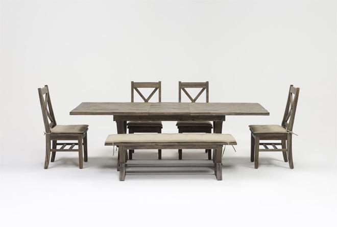 Preferred Mallard 6 Piece Extension Dining Sets Within Mallard 6 Piece Extension Dining Set (View 3 of 20)