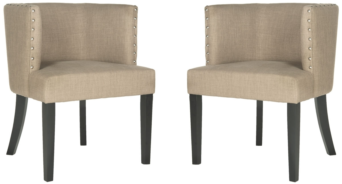 Preferred Mcr4811A Set2 Dining Chairs – Furnituresafavieh Throughout Clay Side Chairs (View 16 of 20)