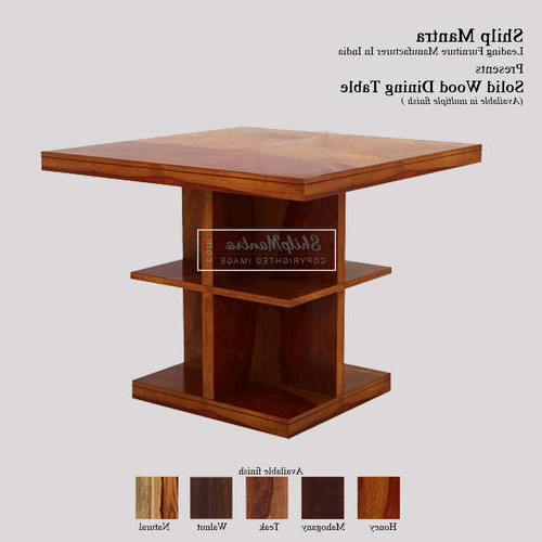 Preferred Modern Solid Wood Shilp Mantra Gavin Dining Table, Rs 14900 /piece In Gavin Dining Tables (View 18 of 20)