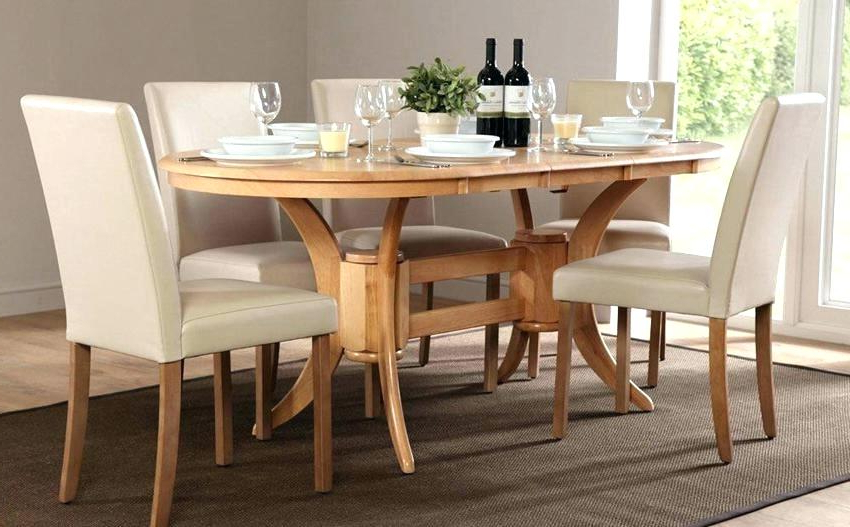 Preferred Oval Oak Dining Tables And Chairs For Gorgeous Oval Oak Dining Table And 6 Chairs Room Set With Furniture (View 16 of 20)