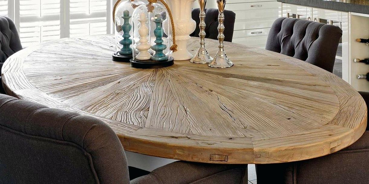 Featured Photo of Oval Reclaimed Wood Dining Tables