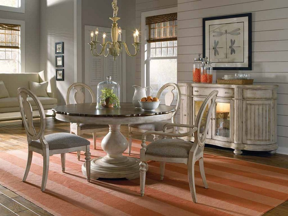Preferred Pedestal Dining Tables And Chairs For Pedestal Dining Table Set – Decordiva Interiors (View 16 of 20)