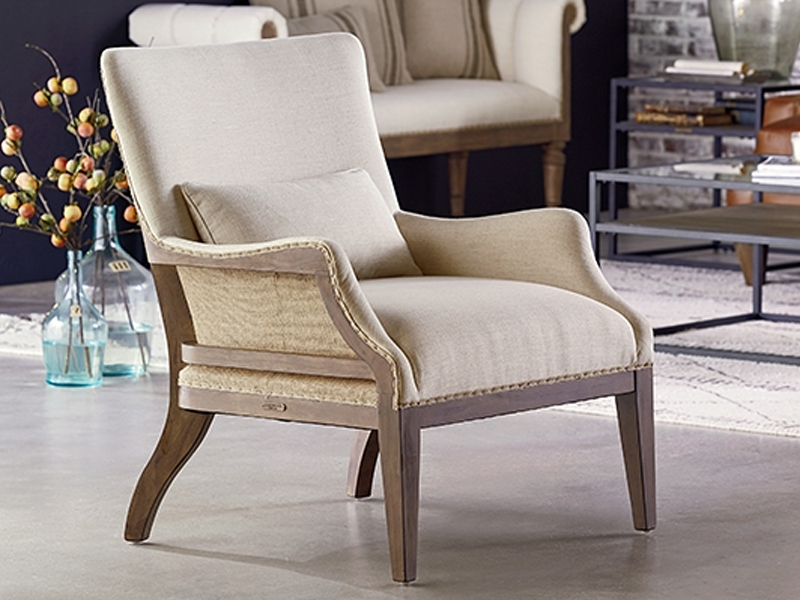 Preferred Renew Accent Chairmagnolia Home Within Magnolia Home Revival Jo's White Arm Chairs (View 9 of 20)