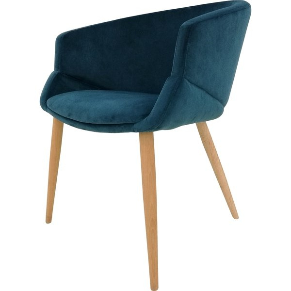 Preferred Shop Aurelle Home Bella Blue Velvet Dining Chair – On Sale – Free Throughout Velvet Dining Chairs (View 16 of 20)
