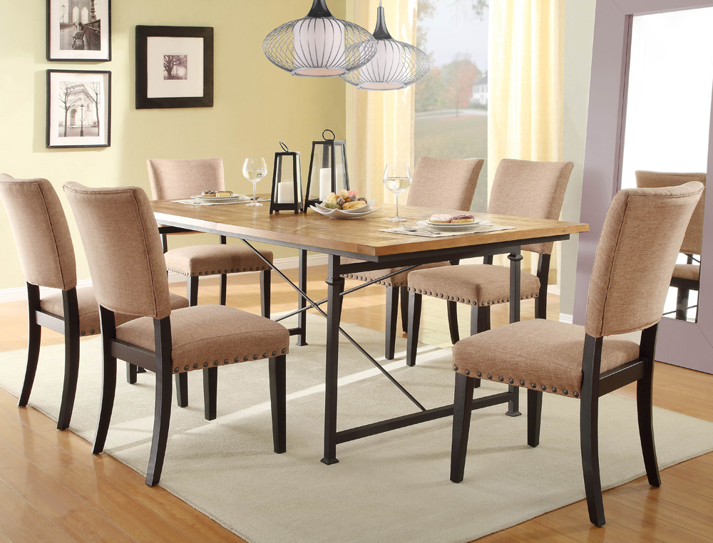 Preferred Smartie Dining Tables And Chairs Pertaining To Wrought Iron Dining Table Set Chintaly Bethel 5 High End Dining Chairs (View 11 of 20)