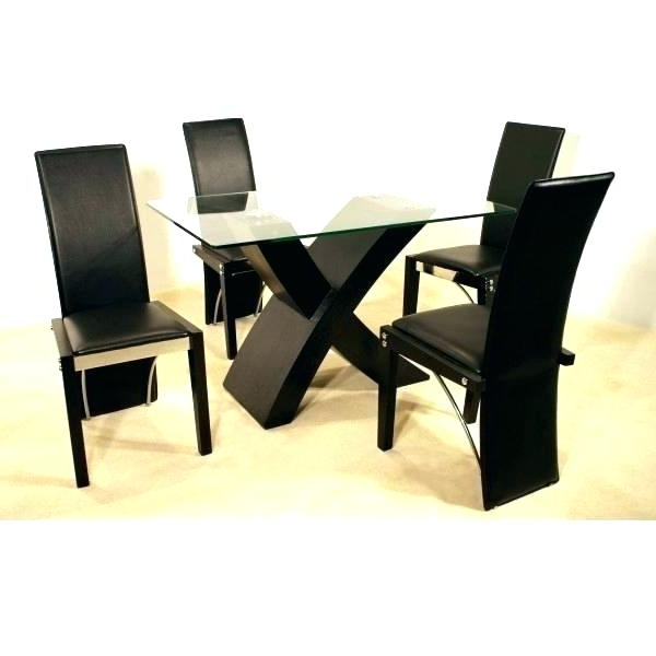 Preferred Square Dining Table For 4 Round Dinner Table For 4 4 Round Dining Intended For Small Round Dining Table With 4 Chairs (View 12 of 20)