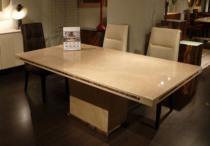 Preferred Stone Dining Tables Inside Buy Stone International Paris Marble Dining Table Online – Cfs Uk (View 6 of 20)