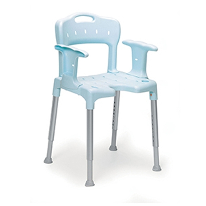 Preferred Swift Shower Stool/chair – Blue – Essential Aids Uk For Swift Side Chairs (View 10 of 20)