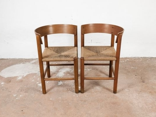Preferred Vintage Chairsmogens Lassen For Fritz Hansen, Set Of 2 For Sale Pertaining To Lassen Side Chairs (View 4 of 20)
