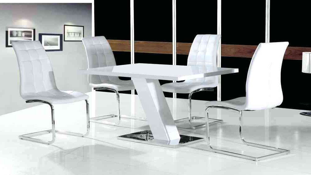 Preferred White High Gloss Dining Tables And 4 Chairs Regarding White Gloss Dining Set High Gloss Furniture White High Gloss Dining (View 1 of 20)