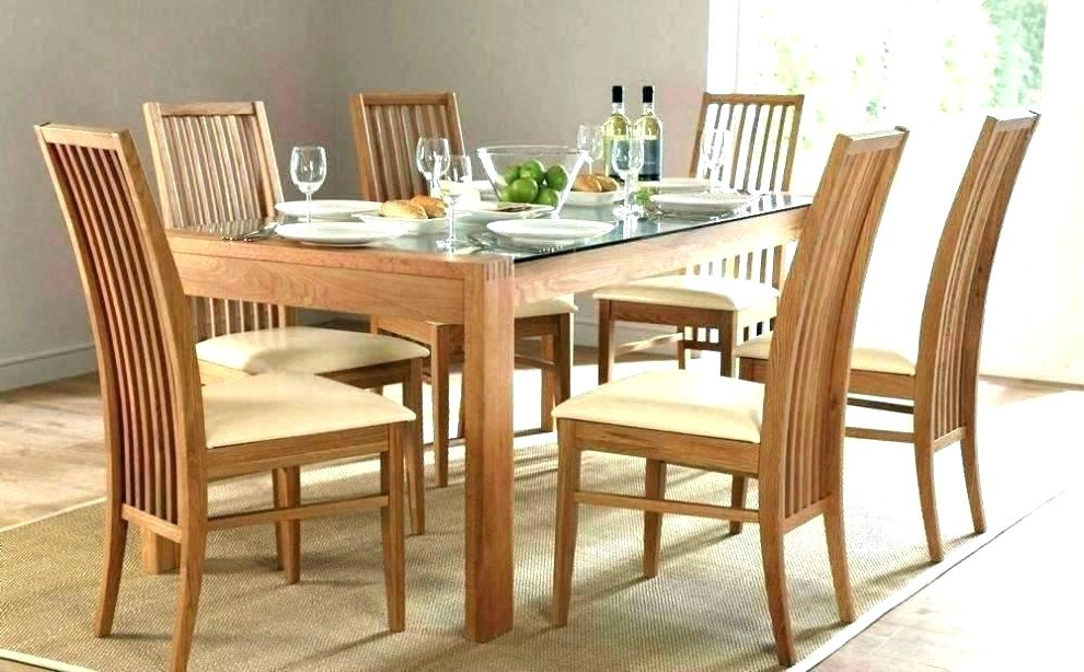 Preferred Wooden Dining Tables And 6 Chairs Within Round Table For 6 – Pdxtutor (Gallery 16 of 20)